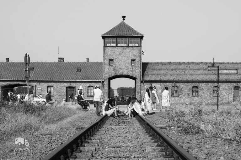 Gate to Birkenau