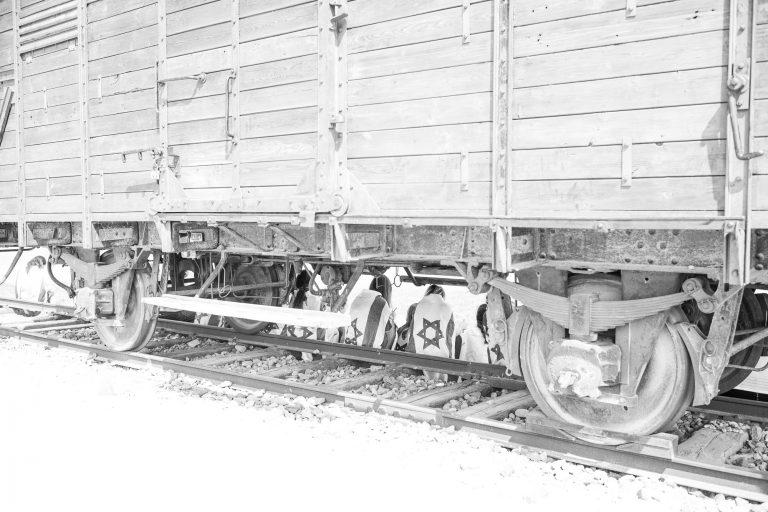 Holocaust trains in Auschwitz-Birkenau