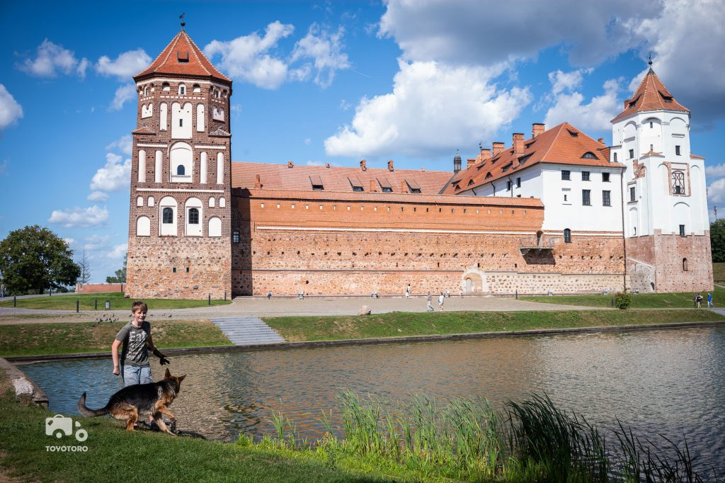 My castle in Mir, Belarus