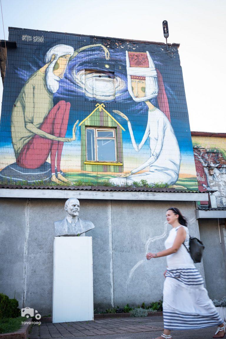 Lenin loves murals