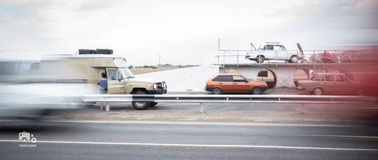Public car servicing ramps in Russia