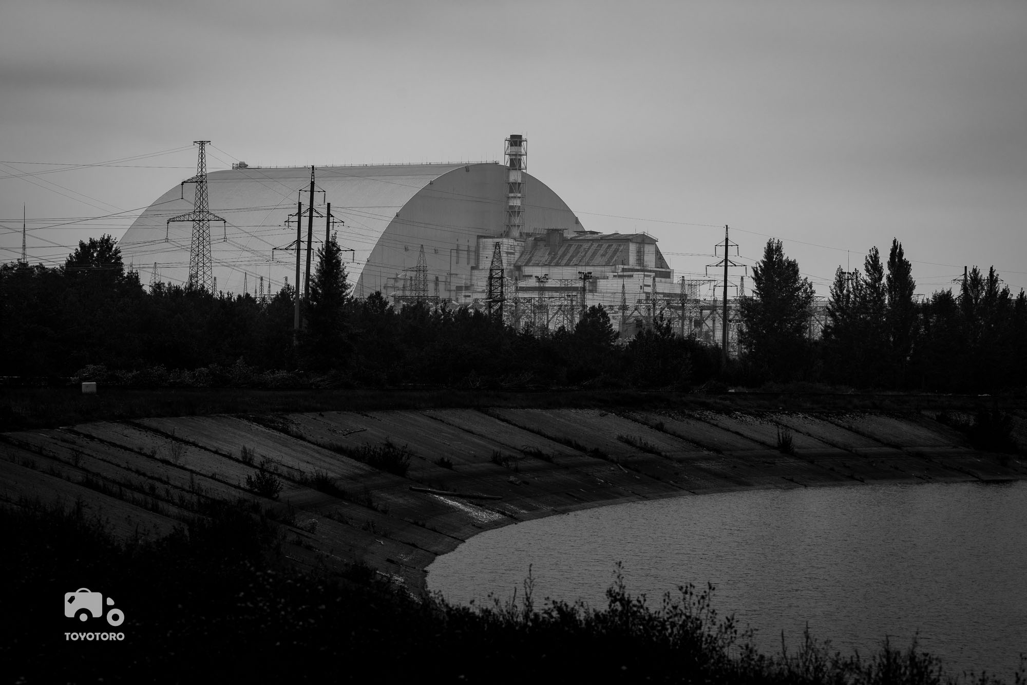 Chernobyl Nuclear Power Plant sarcophagus