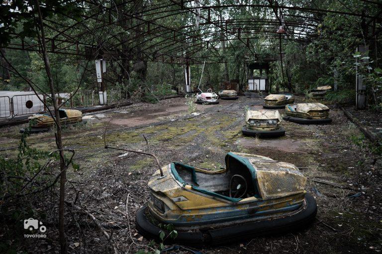 Bumper Cars in Hansapark, I mean Pripyat/Chernobyl