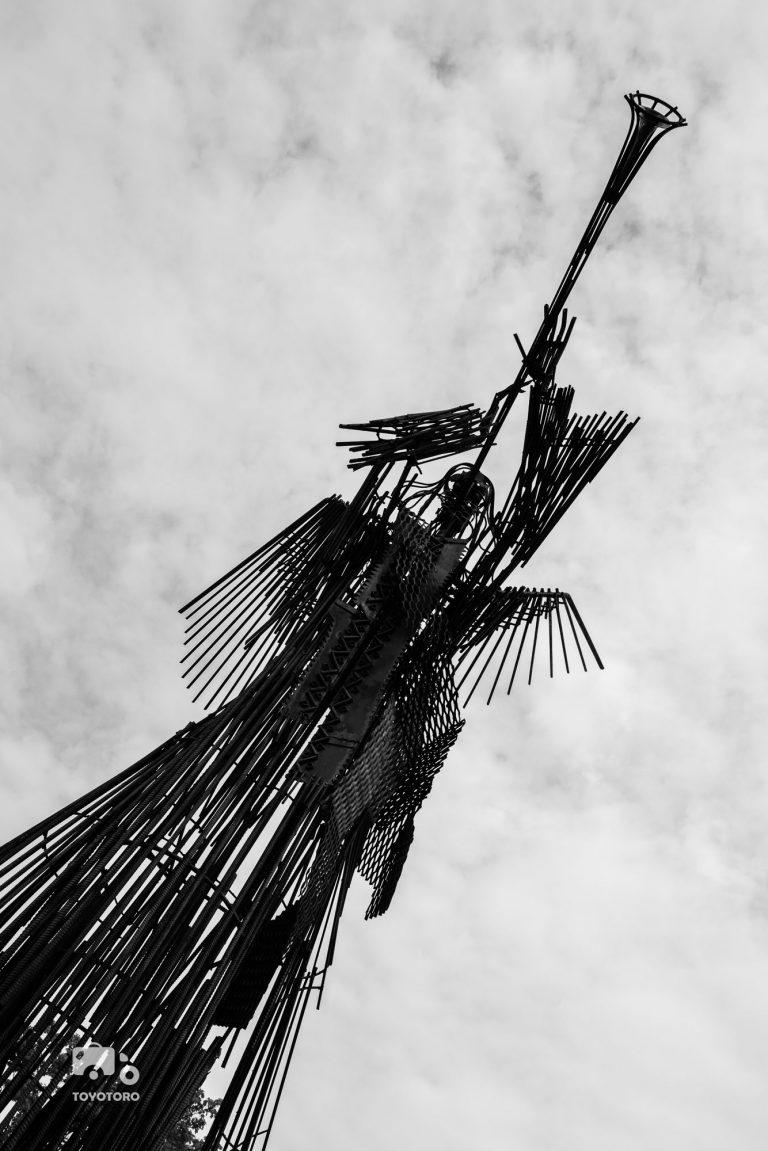 Chernobyl angel statue